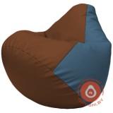 Г2.3-0703 коричневый и синий