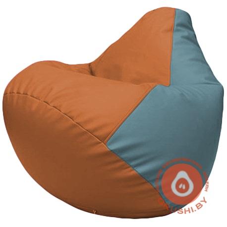 Г2.3-2036 оранжевый и голубой