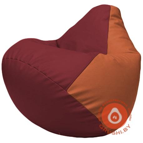 Г2.3-2123 бордовый и оранжевый