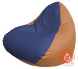 Р2.3-110 релакс кожа сид синяя +бок оранж
