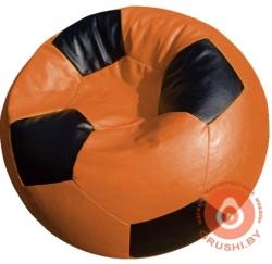 мяч оранжево черны1й