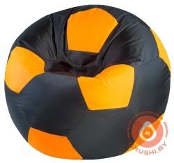 черно оранжевый