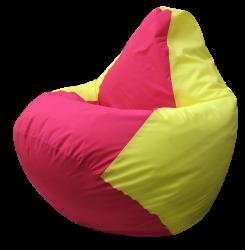 Бескаркасные кресла груши двухцветные