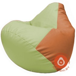 Г2.3-0420 светло-салатовый и оранжевый