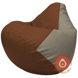Г2.3-0702 коричневый и светло-серый