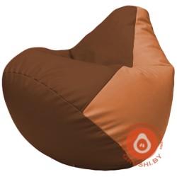 Г2.3-0720 коричневый и оранжевый