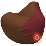 Г2.3-0721 коричневый и бордовый