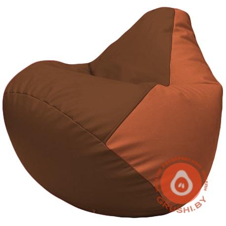 Г2.3-0723 коричневый и оранжевый