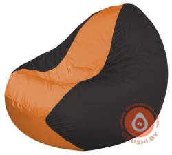 К2.1-134 чёрный + сидуш оранж