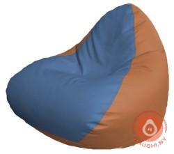 Р2.3-68 релакс кожа сид голубая +бок оранж