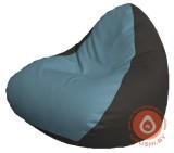 Р2.3-70 релакс кожа сид голубая +бок чёрный
