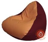 Р2.3-98 релакс кожа сид оранж +бокбордо