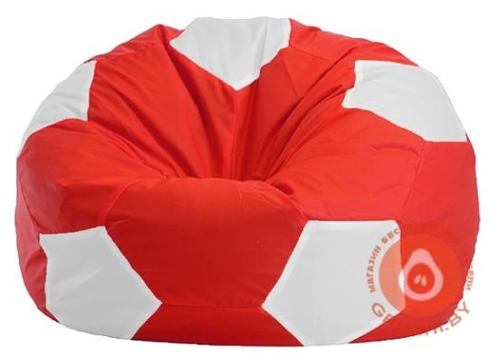мяч бело красный