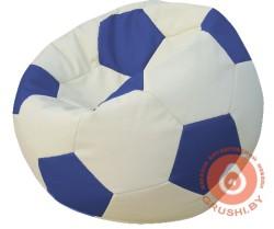 +мяч бело-синий