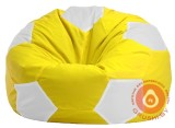 мяч желто  бел