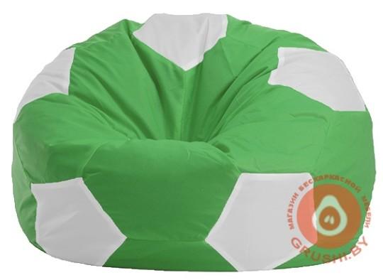 мяч зелено бел