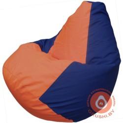 оранжево синяя