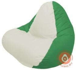 релакс  белый+зелёный