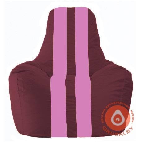 sporting-bordovyj-s-rozovymi-poloskami-s11-306