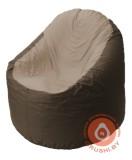 B1.1-28 кресло основ коричневый + тём беж