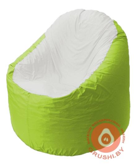 B1.1-30 кресло основ салат + белый