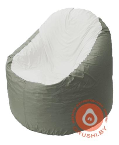 B1.1-32 кресло основ серый + белый