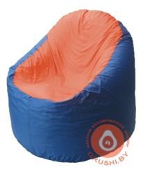 B1.1-33 кресло основ синиее + оранж
