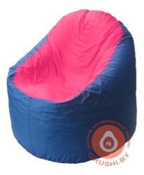 B1.1-34 кресло основ синиее+ малина