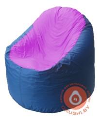 B1.1-35 кресло основ синиее+ сирень