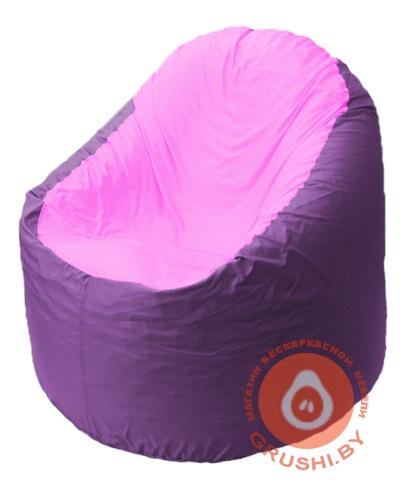 B1.1-39 кресло основ фиолет + роза
