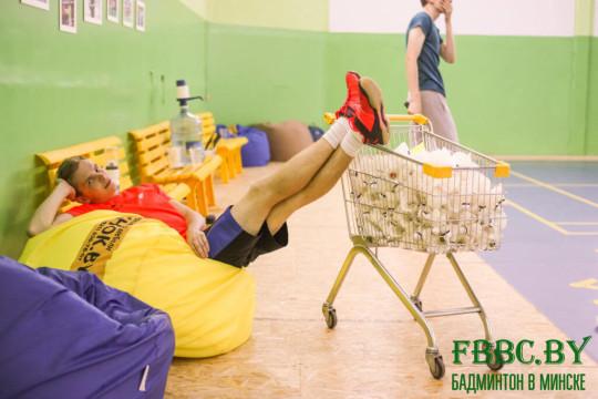 кресла мешки от производителя на неделе бадминтона в Минске