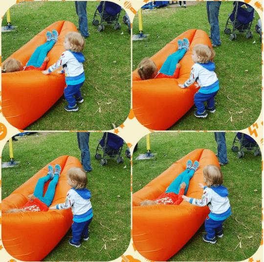 мягкие бескаркасные кресла на МАМСЛЁТЕ в парке Dreamland