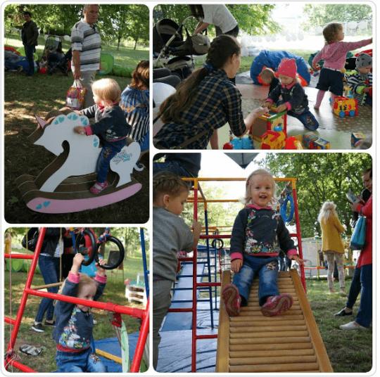 наши кресла мешки на МАМСЛЁТЕ в парке Dreamland